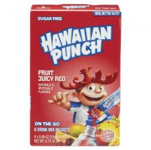 Гавайский пунш из сока красных фруктов б/сахара,8шт