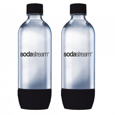 Комплект бутылок SodaStream Twin Pack черные (для сифонов Sodastream и Ecosoda)
