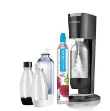Сифон Sodastream Genesis Megapack черный (с набором бутылок)