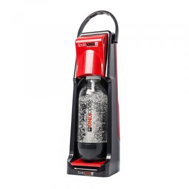 Сифон для газирования воды SodaKing Smart красный(выставочный образец)