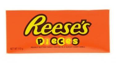 Драже из арахисовой пасты Reese's Pieces в хрустящей глазури ,113г