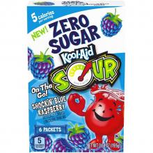 Kool-aid sour ежевика б/сахара,6шт