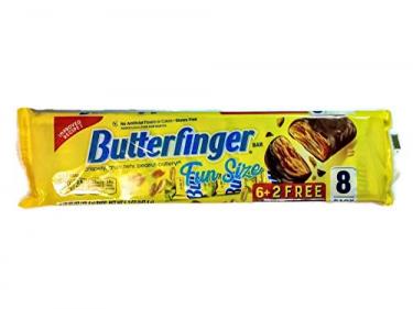 Шоколадные батончики Butterfinger,8 шт