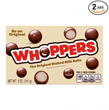 Шоколадные шарики Whoppers с молочной начинкой, 141г