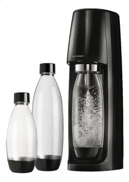 Сифон Sodastream Spirit Megapack черный(с набором бутылок)