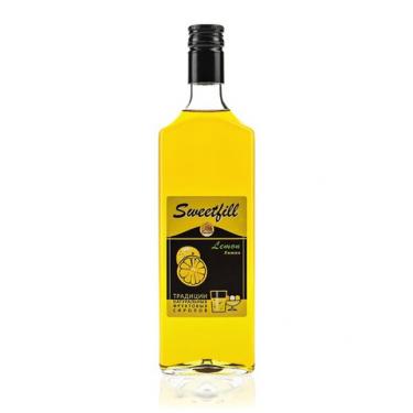 """Сироп Sweetfill """"Лимон"""", 0,5 л"""