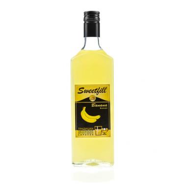 "Сироп Sweetfill ""Банан"", 0,5 л"