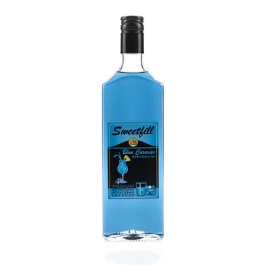"Сироп Sweetfill ""Блю Кюрасао"", 0,5 л"