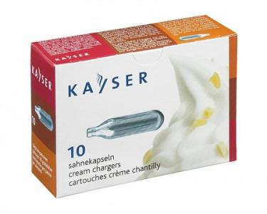 Баллончики для сифона для взбивания сливок KAYSER(10шт)