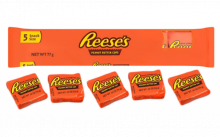 Конфеты Reese's pieces peanut butter cups ,5шт