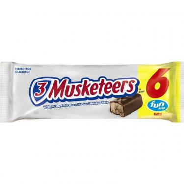 """Шоколад """"3 Musketeers"""", 6 шт"""