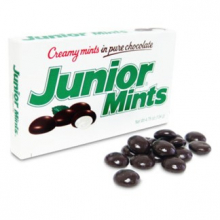 Мятные конфетки Junior Mints в шоколаде, 99г