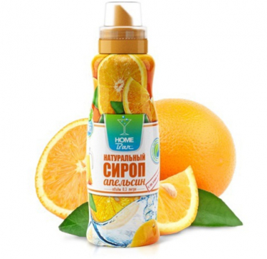 "Сироп ""Апельсин""HomeBar,500мл"