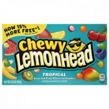 Конфеты Chewy Lemonhead Tropical,163г