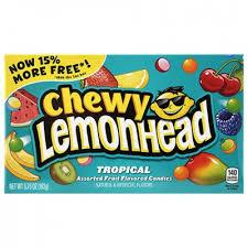 Конфеты Chewy Lemonhead Tropical,163г