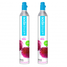 2 баллона Sodastream CO2 на 2*60 л. напитка