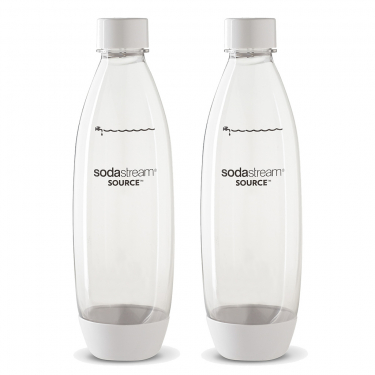 Комплект бутылок SodaStream Twin Pack Fuse белые