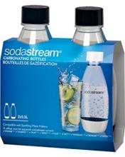 Комплект бутылок SodaStream 0,5л Twin Pack черные(для сифонов Sodastream и Ecosoda)