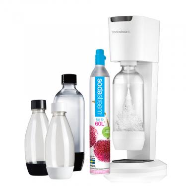 Сифон Sodastream Genesis Megapack белый (с набором бутылок)
